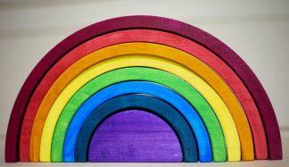 Rainbow stacker