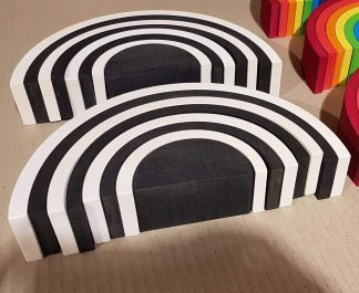 Monochrome stacker